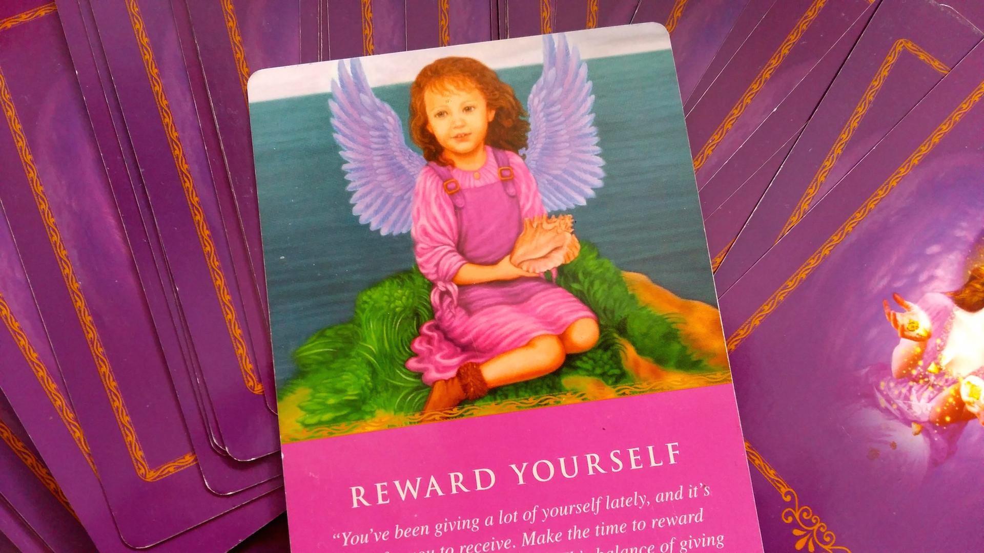 Weekend Spirit Message, 26-28 Aug 2016: Reward Yourself.